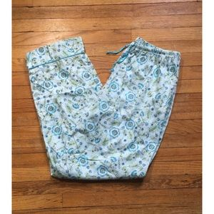 Flowered Women's Pajama Pants
